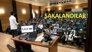 """Tıp Fakültesi 1. Sınıflara """"Hoşgeldin"""" Şakası ( Sınıfı terk etti!! )"""