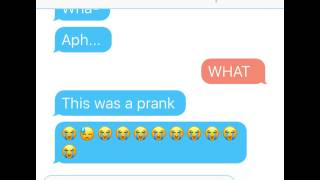 Aaron pranks aph / Break up prank... GONE WRONG SHE CRIED