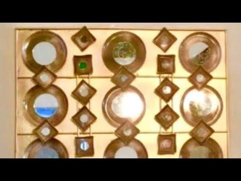 DIY Dollar Tree Mirror Art Wall Decor Home Interior Design Ideas ...