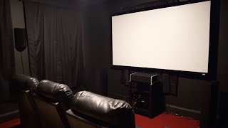 Budget DIY 2019 Home Theater with a cameo from SpareChange!
