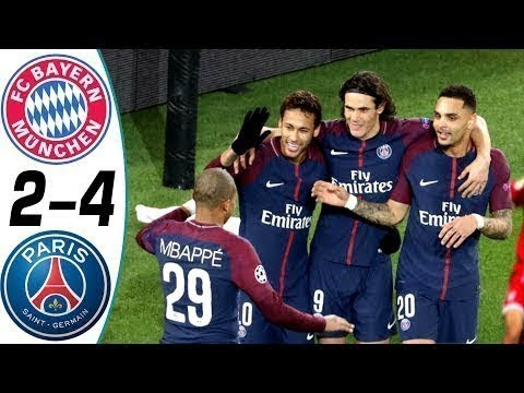Bayern Munich vs PSG 2-4  ● All Goals & Highlights