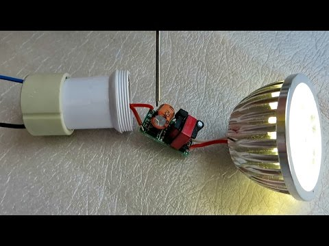 LED Strahler Deckenstrahler GU-10 4 Watt billiger ebay China Schrott Reperatur