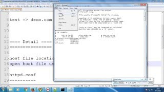 How to Change localhost to a Domain Name in XAMPP (Windows)