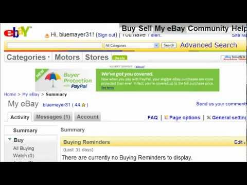 Watch Me Send An Invoice To A Customer on eBay- eBay Video Tutorial 25 of 34