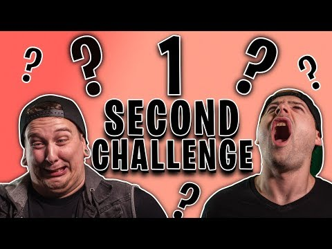 One Second Song Challenge! (CAN YOU GUESS THEM ALL?!)