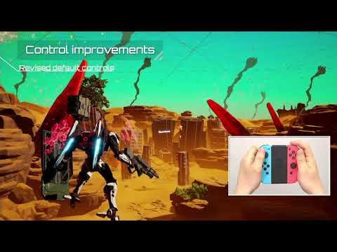 Видео № 1 из игры Daemon X Machina (Б/У) [NSwitch]