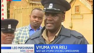 Shehena ya vyuma vya reli yanaswa Eldoret