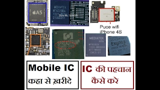 [Hindi/Urdu] Mobile IC Full Detail | Where from buy new IC | How to Find IC Serial numer | Best Site