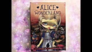 Messages coming through the Alice the wonderland Oracle cards