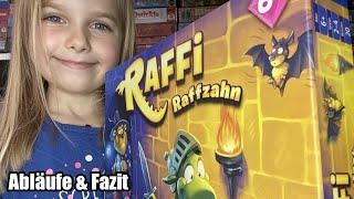 Raffi Raffzahn (Kosmos) - ab 6 Jahre - mit Alina inkl. Abläufe, verrücktes gameplay & Fazit