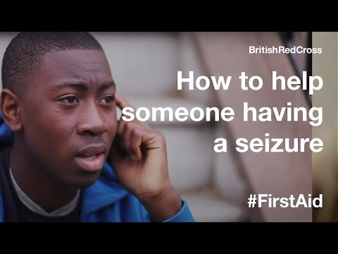 Screenshot of video: First aid Treatment for Epilepsy