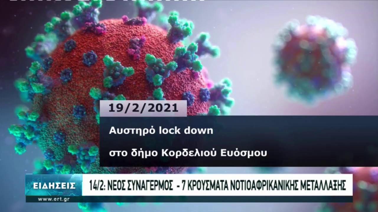 """Πώς φτάσαμε στο """"lockdown"""" στον Εύοσμο   22/02/2021   ΕΡΤ"""
