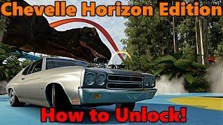 Forza Horizon 3 | HOW TO UNLOCK The Chevy Chevelle SS 454 Horizon Edition