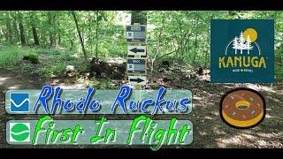 Rhodo Ruckus & First In Flight - Ride Kanuga Bike Park - RAW Full Run - Opening Day 2020 -