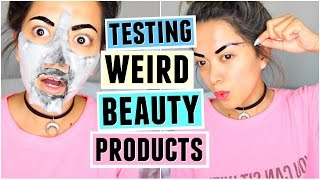 TESTING WEIRD BEAUTY PRODUCTS! AGAIN! by ThatsHeart