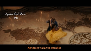 Beauty And The Beast  Tale As Old As Time Lyrics Español  Official Video Celine Dion