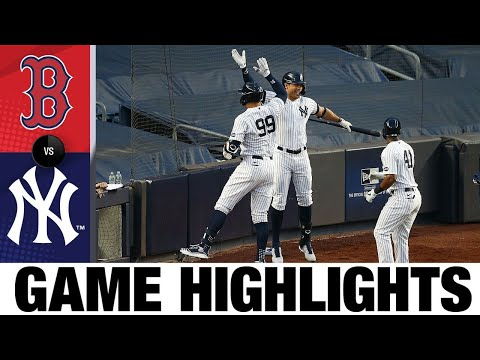 Aaron Judge powers Yankees to 9-7 win   Red Sox-Yankees Game Highlights 8/2/20