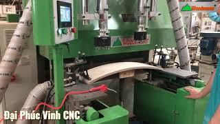 Máy phay rãnh học kéo, phay mặt hộc kéo gỗ thịt WM-110C