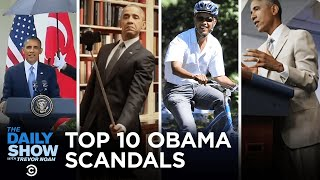 Top 10 Obama Scandals | The Daily Show