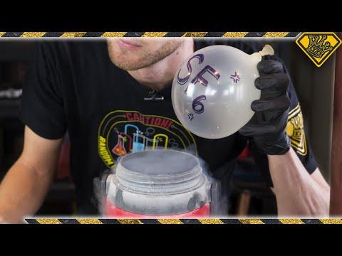 Making SOLID Sulfur Hexafluoride