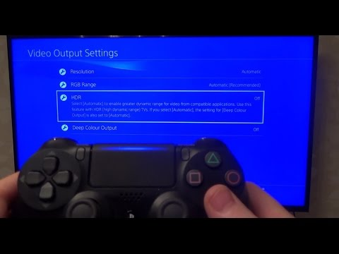 How to Setup HDR & Game Mode on PS4 Slim & Samsung HDR 4K TV