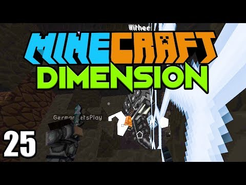 Der finale KAMPF gegen den WITHER ☆ Minecraft DIMENSION #25