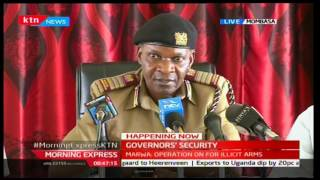 Nelson Marwa claims drug addicts are being used to to cause chaos during election violence