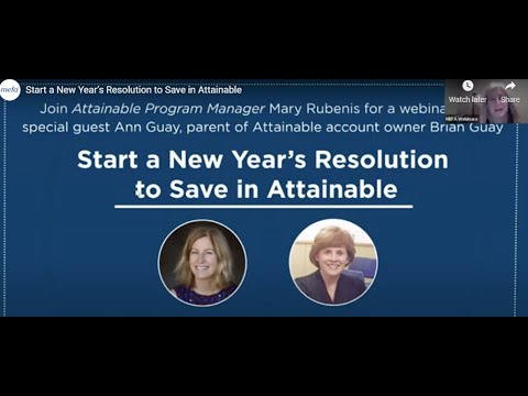 Start a New Year's Resolution to Save in Attainable
