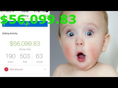 $56,099.83 with a Cell Phone in 60 Days Drop Shipping on eBay with 190 Listings