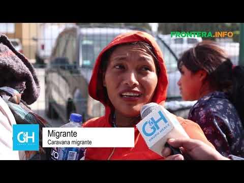 Caravana Migrante llega a la frontera con EUA