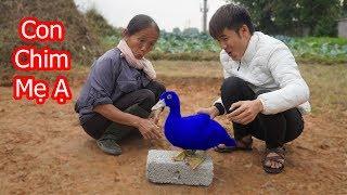 Hưng Vlog - Phát Hiện Con Ngan Của Mẹ Bà Tân Vlog Hóa Thiên Nga Xanh