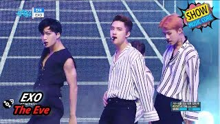 [Comeback Stage] EXO - The Eve, 엑소 - 전야 Show Music core 20170722
