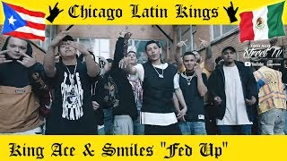 """KING ACE & SMILES """"Fed Up"""" [NEW LATIN KINGS GANG DRILL RAP CHICAGO!!] CHICANO RAP 2020 ALKQN 👑 🤴🏽"""
