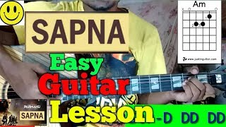 Sapna || Arijit Singh ||-Easy Guitar Chords/Lessons/Tutorial/Guitar Cover..By-Merajul