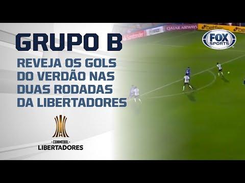 No 'GRUPO B', o Brasil é o Palmeiras na Libertadores 2020!; Reveja os gols até aqui