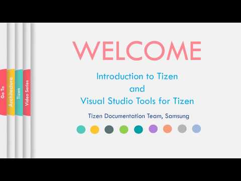 Tutorial-Part1: Introduction to Different Types of Tizen Applications