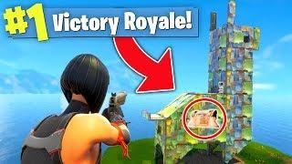 The PIÑATA CHALLENGE! (Fortnite Battle Royale)