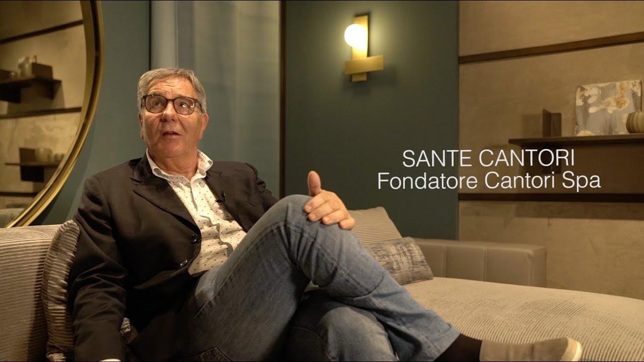 27/04/2018 Intervista di Vogue Italia al fondatore Sante Cantori durante il Salone del Mobile di Milano 2018 - Cantori