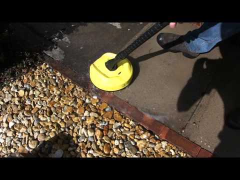 Karcher K2 Pressure Washer with Hard Surface Cleaner T150