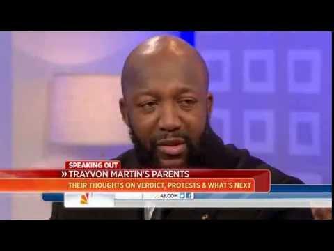 Trayvon Martin's Parents Today Show Interview 'Still In Shock & Disbelief
