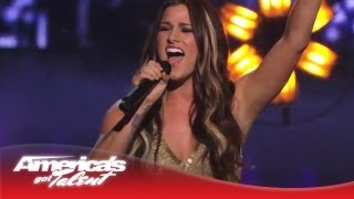 "Cassadee Pope - ""Wasting All These Tears"" Performance on AGT - America's Got Talent 2013"
