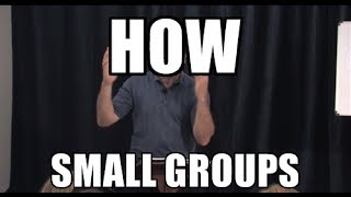 How to Lead a Small Group Bible Study