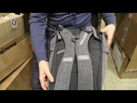 Рюкзак деловой Nova Tour «Код 27». Видеообзор.