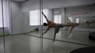 Дмитрий Федотов Украина. PoleAction. Man Pole Dance. Dmitry Fedotov. 04. 2013