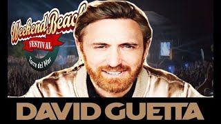 David Guetta Weekend Beach 2018