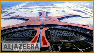 Beijing unveils world's largest airport ahead of 70th anniversary
