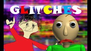 Glitches in Baldi's Basics