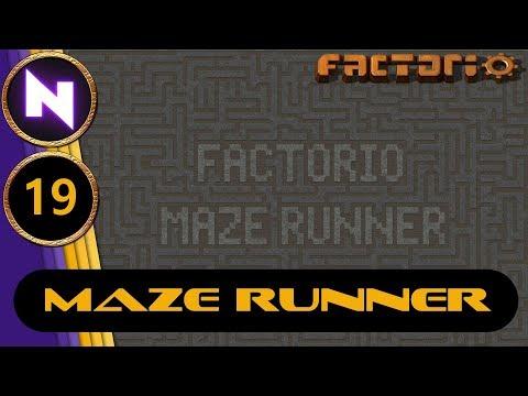 Factorio 0.17 Maze Runner #19 SULFUR AND SHELLS