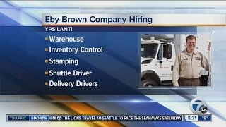 Workers Wanted: Eby-Brown Company hiring
