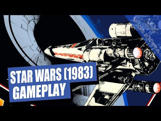 Star Wars: Jugamos a la clásica recreativa de Atari y destruimos la Estrella de la Muerte dos veces